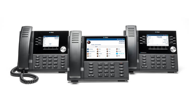 mitel phone system for cloud and onsite. business phones